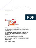 Comvocatoria Municipal
