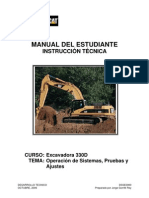 Manual Del Estudiante 330D - Octubre 2006