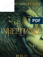 INHERITANCE (exclusive preview) by Christopher Paolini