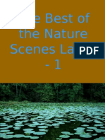 The Best of the Nature Scenes Lakes -1