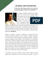 Fr Soc Villegas Integrity Integral Integrating
