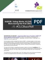 Congressional Black Caucus (CBC) 41st Annual Legislative Conference #CBCBuzzRoll