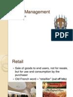 Retail Management Intro