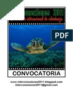 Convocatoria INTERCONEXIONES 2011 (descripción)