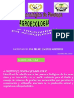 I UNIDAD AGROECOLOGIA