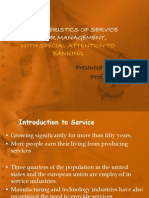 Characteristics of Service Sector Management,