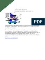 12-09-11 Policía de Puerto Rico, el Informe en caricaturas