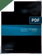 Vizio HDTV 550NV Manual