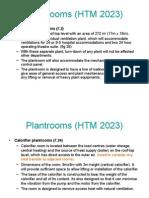 Plant Rooms (HTM 2023)