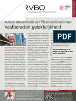 Actieve arbeidsmarkt voor 50-plussers een must, vastberaden geleidelijkheid, Infor 28, 22 september 2011
