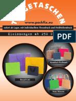 Schröder Packfix Tragetaschen 2011/2012