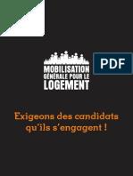 Mobilisation Generale Pour Le Logement