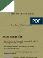Métodos de Esterilización; Tema 8