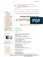 Kanbay Placement Paper 2
