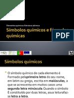 Elementos Quimicos Estrutura Atomica Simbolos Quimicos e Formulas Quimicas