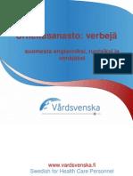 Finnish Sports Verbs Glossary