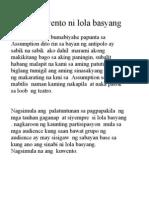 Ang Kwento Ni Lola Basyang