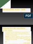 Metabolismo Acido – Base