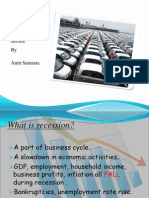 Post Recession Performance of Automobile Sector