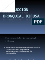 2do Certamen Obstruccion Bronquialdifusa