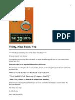 The Thirty-Nine Steps[1]