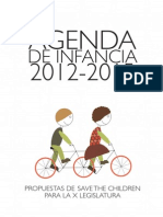 Agenda de Infancia 2012-2015