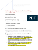 ALGUMAS PESSOAS JAMAIS PEDEM UMA COLHEITA FINANCEIRA ESPECÍFICA E SIGNIFICATIVA