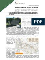 Aseos Autolimpiables en Bilbao, Servicio de Calidad