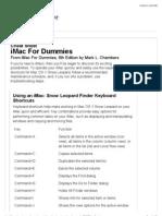 iMac for Dummies Cheat Sheet - For Dummies