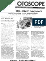 Auditory Brain Implants