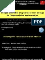 Função Endotelial em Portadores da Doença de Chagas crônica assintomática