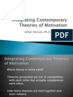 Application of Motivation Concepts