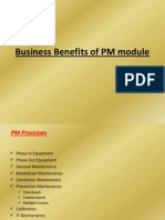 Business Benefits of PM Module