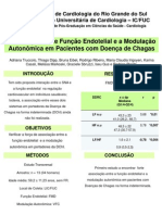 Associação entre função endotelial e controle autonômico em pacientes com Doença de Chagas