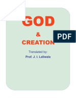 God and Creation by Dr. Sharif