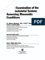 Clinical Examination of Musculoskeletal System - Assessing Rheumatic Conditions