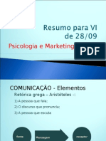 Resumo Para VI Psicologia é Marketing SET_2011