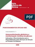 automonitorização glicemia