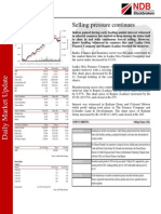 NDB Daily Market Update 22.09