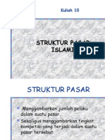 Struktur Pasar Islami