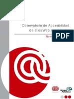 Observatorio Accesibilidad Web en Municipios_Versión sintética