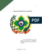 Lei Organica Do Municipio de Vilhena