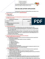 Criteria Lotto Outlet Application New