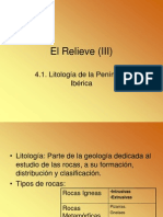 03 Litología  de la Península Ibérica