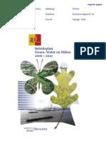 Beleidsplan Groen, Water en Milieu