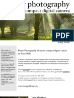 Better Digital Photography with your Compact Digital Camera