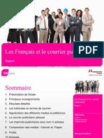 Les Français et le courrier publicitaire
