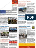 HFRS Community News Issue 1 Sept 2011