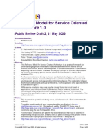Reference Model for Service Oriented Architecture 1