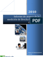 Informe Avance de La Medici--n Brecha Digital Costa Rica